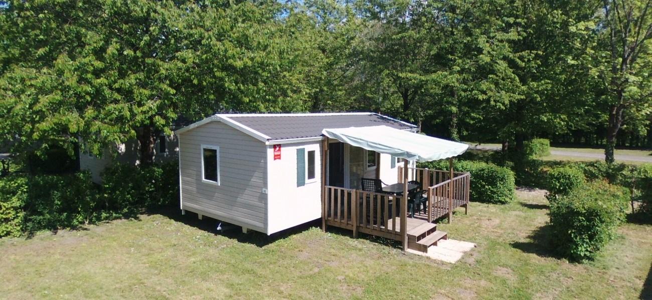 Camping Lac De Carouge In Savoie Casa Móvil 3 Habitaciones